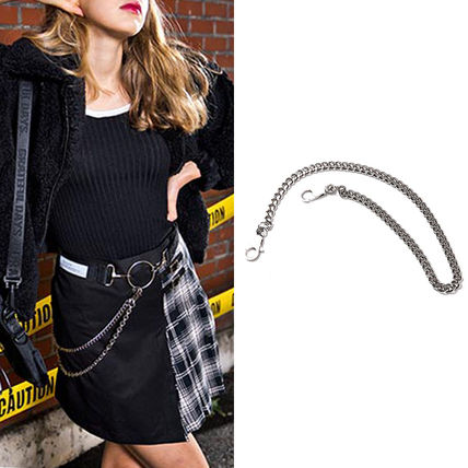 Casual Style Unisex Street Style Chain Plain Accessories