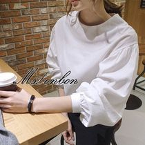 Short Casual Style Cropped Plain Cropped