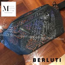Berluti Nylon 2WAY Messenger & Shoulder Bags