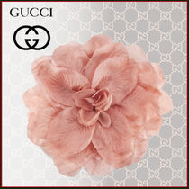 GUCCI Blended Fabrics Flower Party Style Party Jewelry