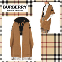 Burberry Wool Ponchos & Capes