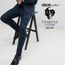 ASOS Printed Pants Other Check Patterns Wool Street Style