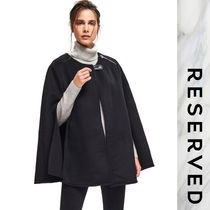 RESERVED Wool Plain Ponchos & Capes