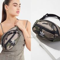 adidas Camouflage Street Style Shoulder Bags