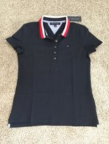 Tommy Hilfiger Plain Short Sleeves Polo Shirts