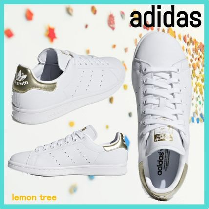 big sale ac043 65346 adidas STAN SMITH 2019 SS Casual Style Street Style Leather Shoes
