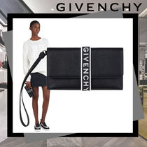 GIVENCHY Plain Leather Clutches