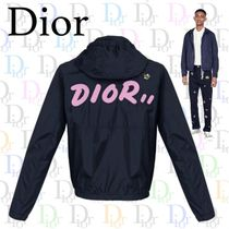 Christian Dior Short Plain Varsity Jackets