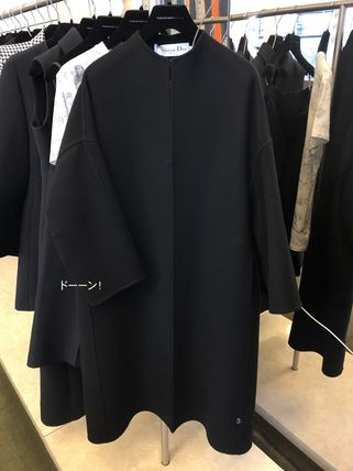 Cashmere Plain Medium Coats