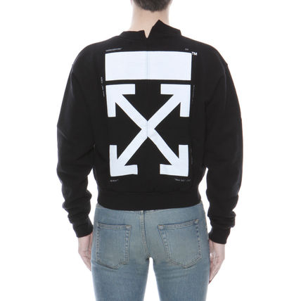 Off-White Sweatshirts Long Sleeves Cotton Sweatshirts 4