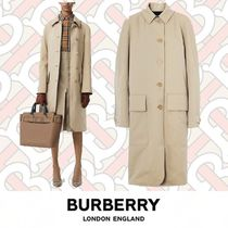 Burberry Plain Medium Trench Coats