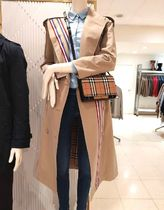 Burberry Stripes Other Check Patterns Trench Coats