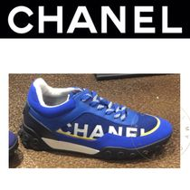 CHANEL SPORTS Rubber Sole Casual Style Street Style Bi-color Oversized