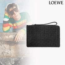 LOEWE Bag in Bag Leather Clutches
