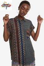 Desigual Casual Style Short Sleeves Shirts & Blouses
