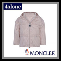 MONCLER Street Style Baby Girl Outerwear