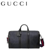 GUCCI Canvas 2WAY Boston Bags
