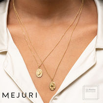 MEJURI Casual Style Chain Handmade 18K Gold Office Style