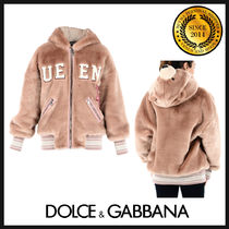 Dolce & Gabbana Short Casual Style Other Animal Patterns Jackets