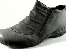 rieker Round Toe Casual Style Faux Fur Boots Boots