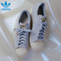 adidas SUPERSTAR Rubber Sole Casual Style Street Style Plain Leather