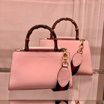 GUCCI Nymphaea 2WAY Plain Leather Shoulder Bags