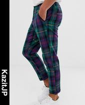 ASOS Printed Pants Tartan Patterned Pants