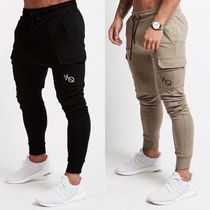 VANQUISH FITNESS Tapered Pants Street Style Plain Tapered Pants