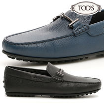 TOD'S Plain Leather Oxfords