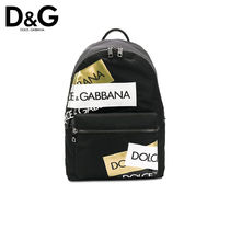 Dolce & Gabbana Nylon Plain Backpacks