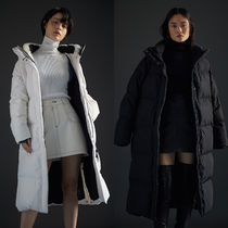 SPAO Plain Long Oversized Down Jackets