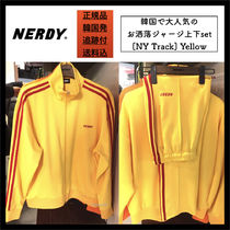 NERDY Unisex Street Style Oversized Top-bottom sets