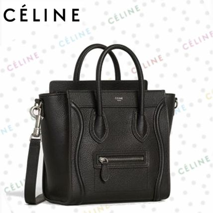 001a1bd6de CELINE 2019 SS Calfskin Plain Party Style Shoulder Bags (189243DRU ...