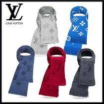 Louis Vuitton Wool Fringes Heavy Scarves & Shawls