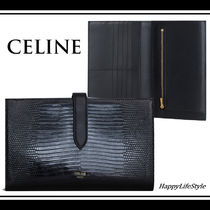 CELINE Strap Calfskin Blended Fabrics Plain Other Animal Patterns
