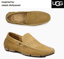 UGG Australia Driving Shoes Studded Plain Leather Loafers & Slip-ons