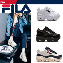 FILA Unisex Street Style Low-Top Sneakers