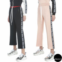 MiuMiu Long Elegant Style Cropped & Capris Pants