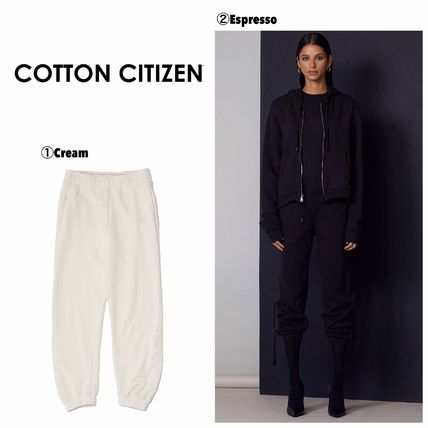 Casual Style Cotton Bottoms