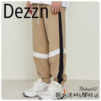 Dezzn Printed Pants Street Style Patterned Pants