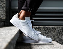 adidas Unisex Street Style Leather Sneakers