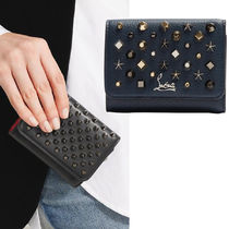 Christian Louboutin Star Leather Folding Wallets