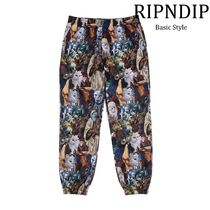 RIPNDIP Printed Pants Street Style Other Animal Patterns