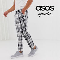 ASOS Printed Pants Other Check Patterns Street Style Bi-color