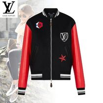 Louis Vuitton Wool Blended Fabrics Street Style Bi-color Jackets