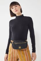 adidas Casual Style Unisex Faux Fur Street Style Bags
