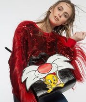 DANIELLE NICOLE Faux Fur Collaboration Other Animal Patterns Crossbody Totes