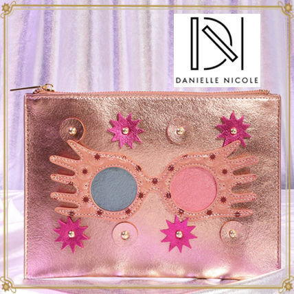 Faux Fur Collaboration Pouches & Cosmetic Bags