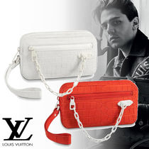 Louis Vuitton Crocodile Other Animal Patterns Clutches