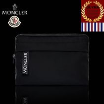 MONCLER Unisex Nylon Bag in Bag 2WAY Plain Bags